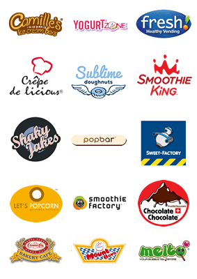 Some of the brands.